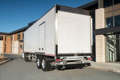 Transportarea încărcăturilor în semiremorci frigorifere
